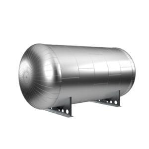 Защитная оболочка на емкости для теплоизоляции