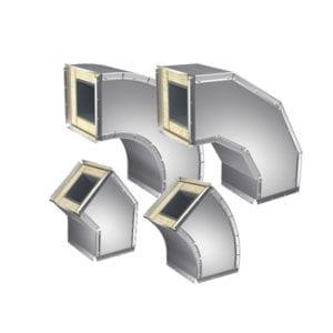 Защитные оболочки для вентиляций Отводы