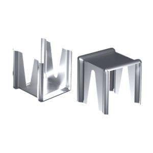 Опорная скоба для теплоизоляции из алюминия