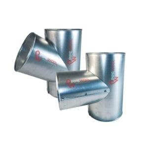Защитная оболочка на тройники для теплоизоляции