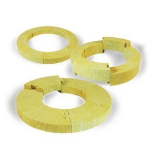 Опорные кольца минераловатные