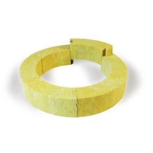Каркасные кольца из минеральной ваты