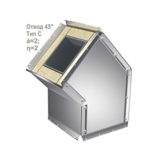 Защитная оболочка для вентиляций Отвод 16