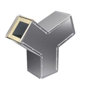 Защитная оболочка для вентиляций тройник 11