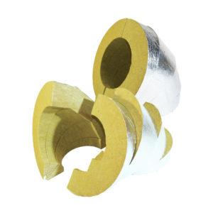 минераловатный отвод фольгированный