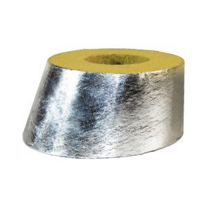 фольгированный минераловатный отвод